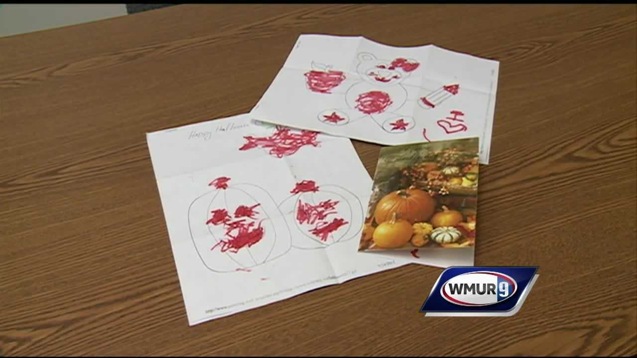 The American Civil Liberties Union-New Hampshire sued the state's Department of Corrections last week on behalf of an inmate whose 3-year-old son sent a Thanksgiving card to him.
