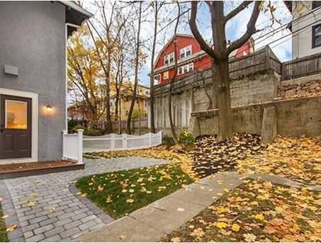 LUXURY SIDE BY SIDE TOWNHOME 3+ bed, Media/ Play/ 4th Bedroom with direct interior access to a 2 CAR GARAGE & PRIVATE BACKYARD located btwn Coolidge Corner & Wash Sq developed by Webb Place Development.