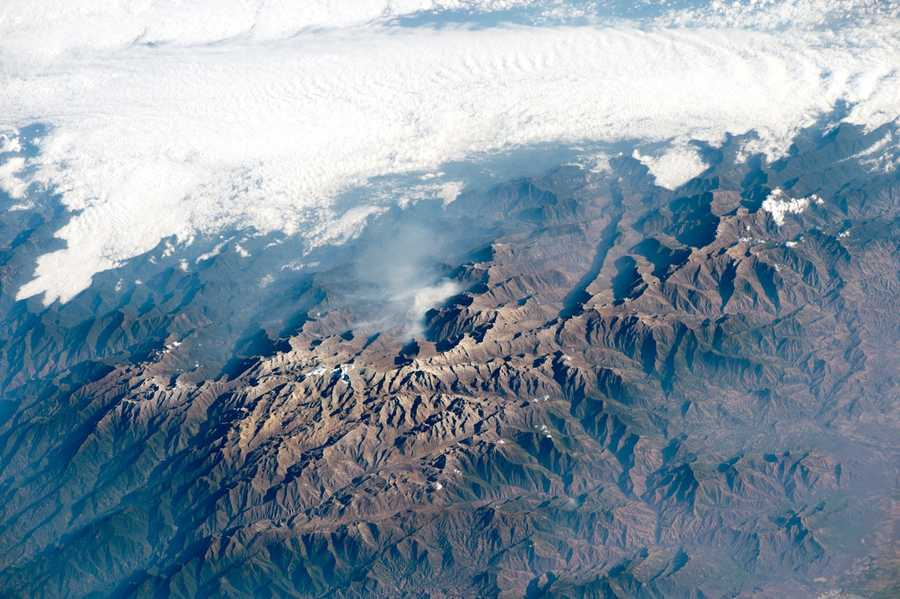 Sierra Nevada de ​Santa Marta, northern Columbia. Expedition 42: 27 February, 2015.