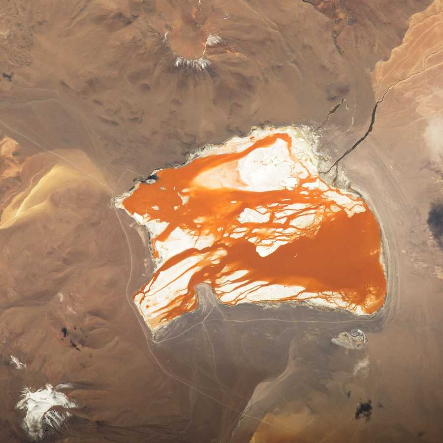 Laguna Colorada, Bolivia. Expedition 43: 16 April, 2015.