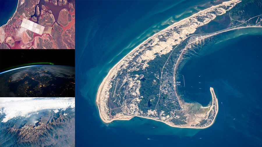 The following images were taken by astronauts on board the International Space Station. This Top 15 list was selected by NASA Johnson Space Center's Earth Observations team.