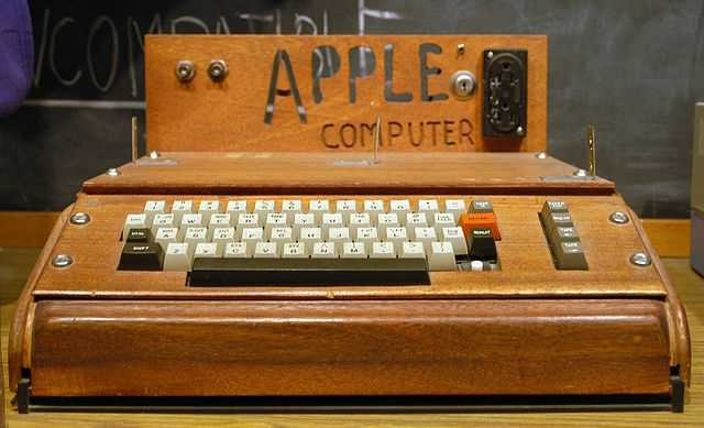 "Apple I computer: Released on April 11, 1976(""Apple I Computer"" by Ed Uthman - originally posted to Flickr as Apple I Computer. Licensed under CC BY-SA 2.0 via Commons - https://commons.wikimedia.org/wiki/File:Apple_I_Computer.jpg#/media/File:Apple_I_Computer.jpg)"
