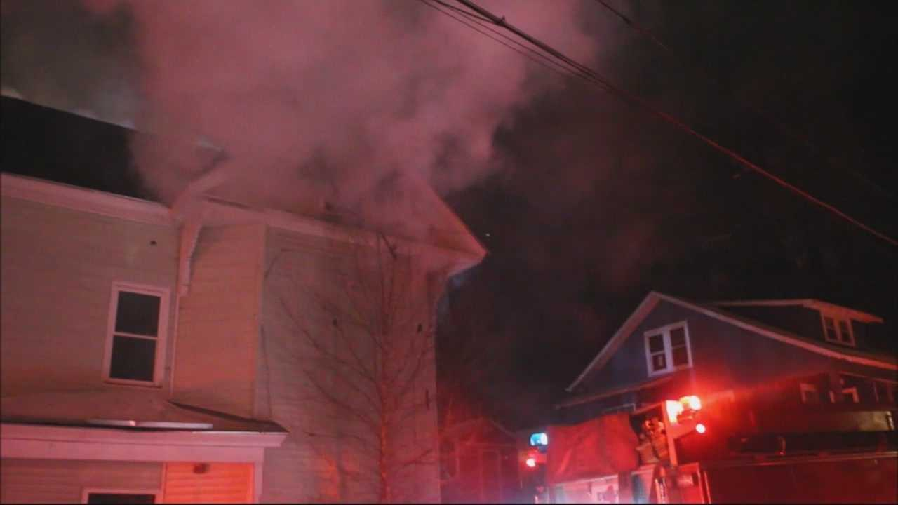 Overnight fire rips through Leominster home