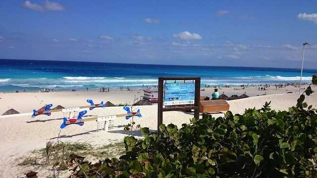 2.) Cancun, Mexico.Average cost of a one-week winter trip: $2,733