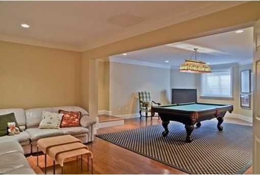 Lower level has a home theatre, billiards room and guest suite with full windows