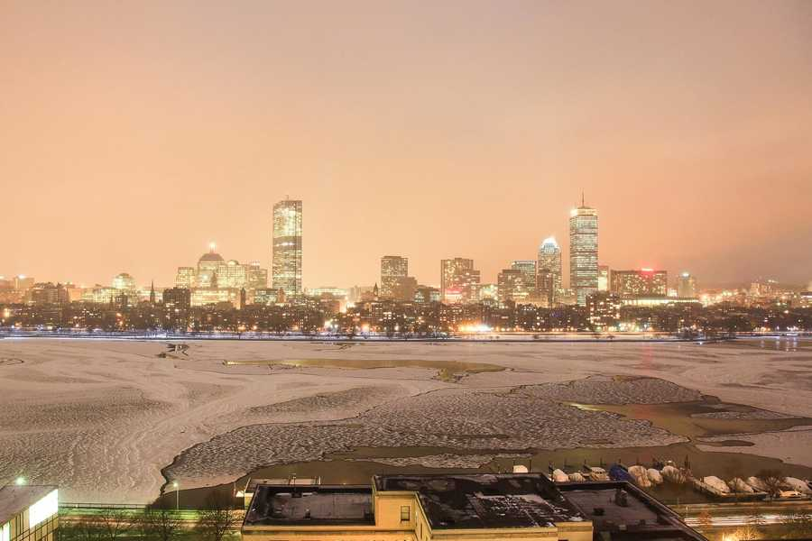Jan. 7, 2011. Boston Timescape project, by Adrian Vasile Dalca.
