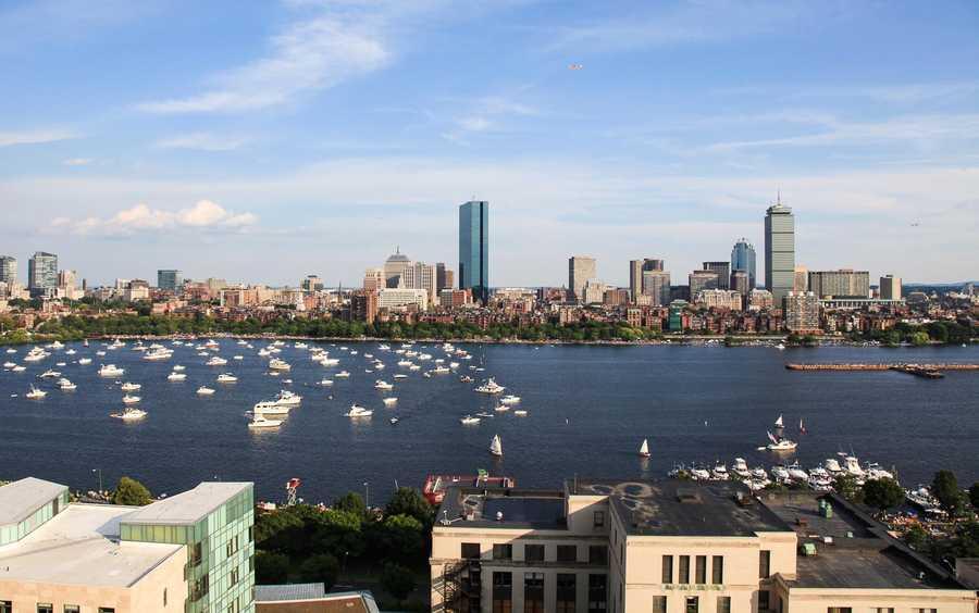 July 4, 2011. Boston Timescape project, by Adrian Vasile Dalca.