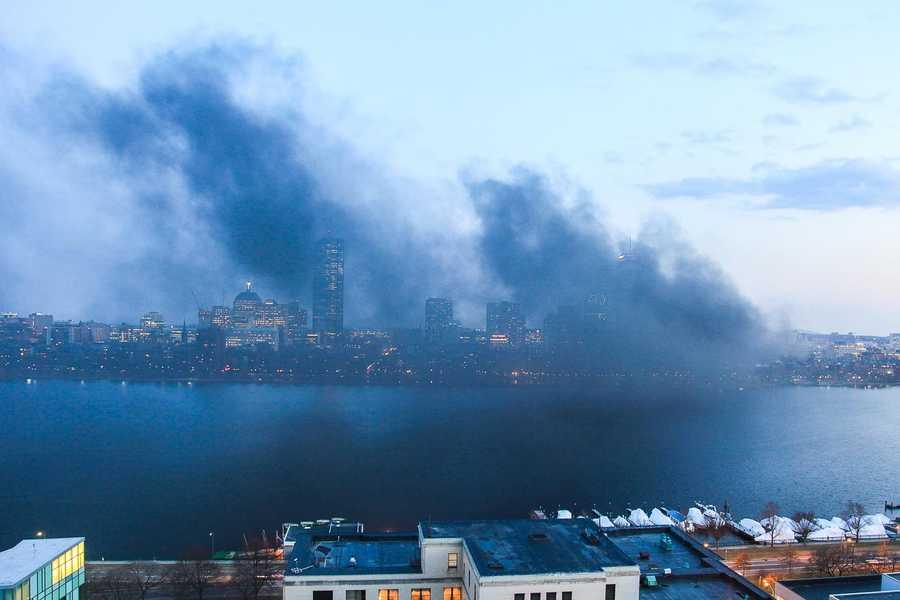 March 13, 2012. Boston Timescape project, by Adrian Vasile Dalca.