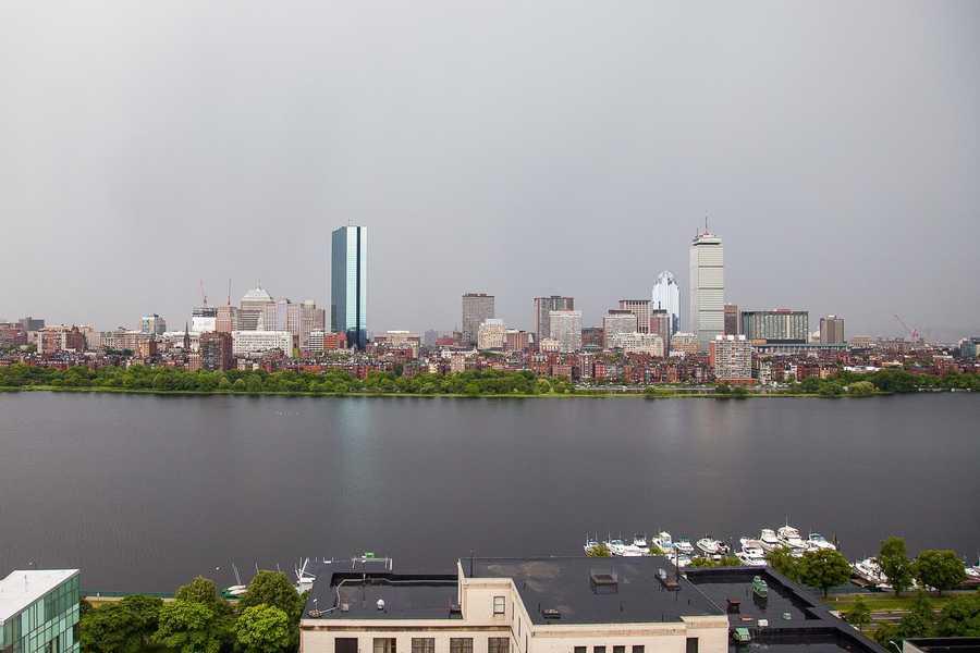 June 8, 2012. Boston Timescape project, by Adrian Vasile Dalca.
