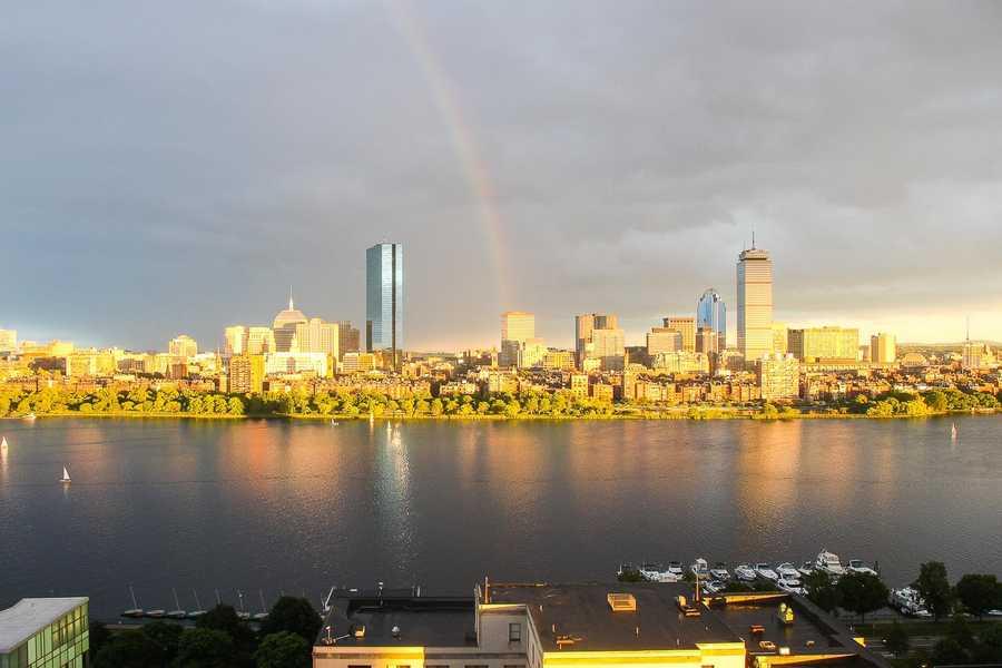 June 12, 2013. Boston Timescape project, by Adrian Vasile Dalca.