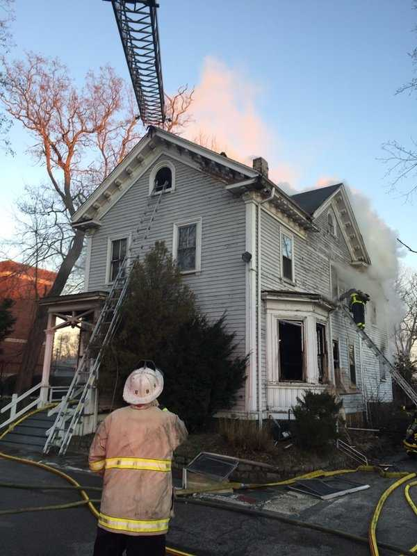 Front of the home at 130 Babson St. in Mattapan