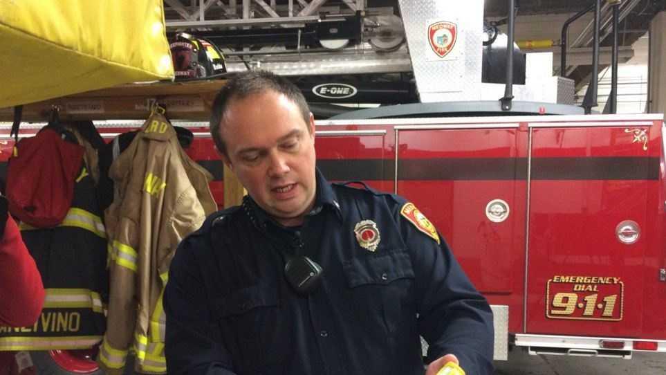 Medway Fire Lt. Matt Anzivino