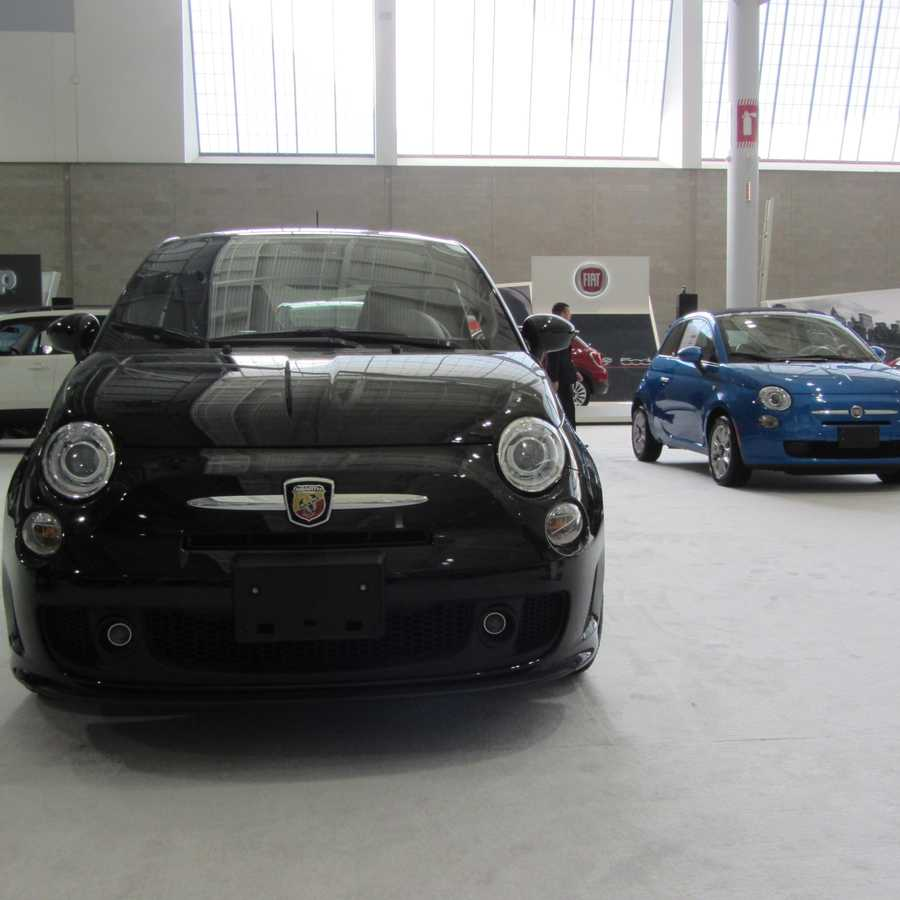 or something a little easier to park in the city like these Fiats ...