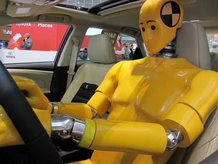 Automakers take the opportunity to showcase the latest in safety innovations ....