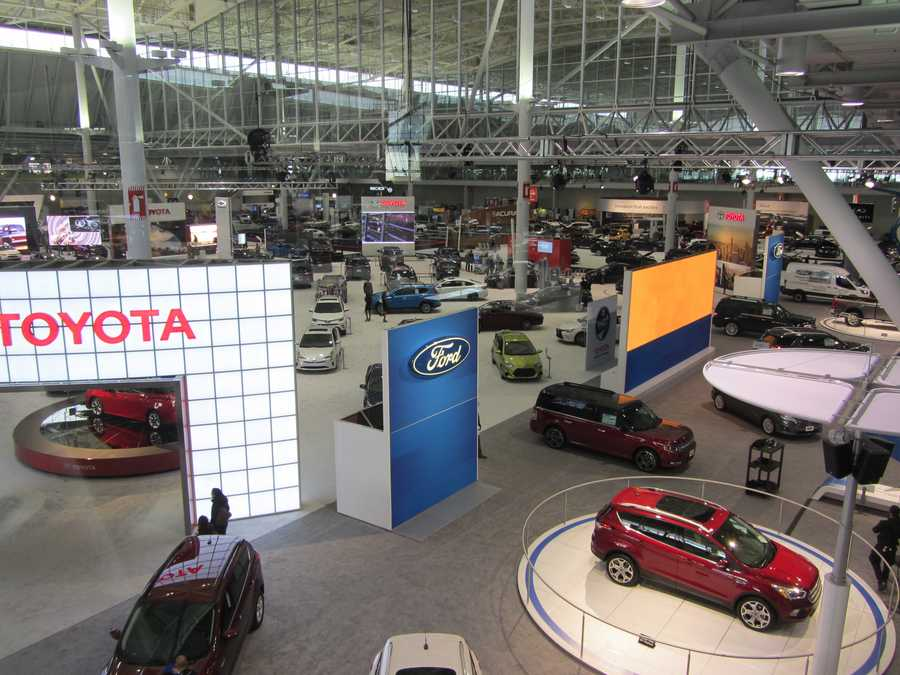 A ticket gets you a look at more than 600 vehicles from 37 car manufacturers -- more than $22 million worth of vehicles! -- as well as ride and drive opportunities.