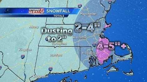 Snow totals 1.18 9a