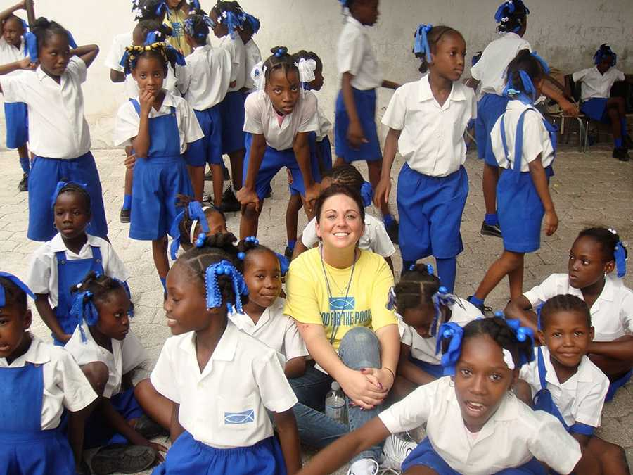 19-year-old Britney Gengel was killed in an earthquake while visiting Haiti in 2010.