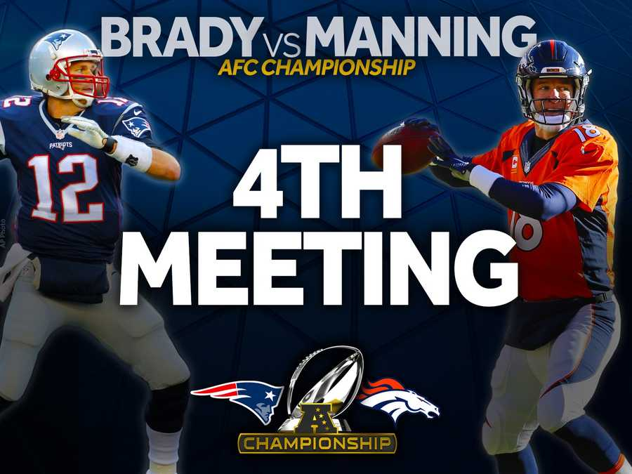 The final chapter of the greatest quarterback rivalry in NFL history plays out in all likelihood Sunday with the 17th meeting between Tom Brady and Peyton Manning.  It'll be the 4th time they meet in the AFC Championship.