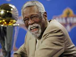 Bill Russell led the Boston Celtics to 11 championships. Two of those championships came as a player-coach, making him the first African American head coach in NBA history and first African American head coach in NBA history to win a title.