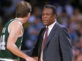K. C. Jones won 11 championships with the Boston Celtics, eight as a player, one as an assistant head coach, and two as a head coach).