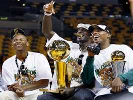 Ray Allen, Kevin Garnett and Paul Pierce revitalized the Boston Celtics franchise, culminating in a championship in 2008, and multiple playoff appearances.