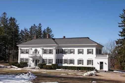 This c.1893 Antique Estate holds a secret sequestered behind tall fieldstone walls