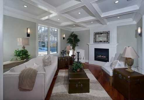 First Floor Consists Of Living Room With Fireplace, Dining Room With Gorgeous White Box Beam Ceiling, Spectacular Kitchen With Island and High End Appliances, Very Large Family Room With Fireplace and Outdoor Access.