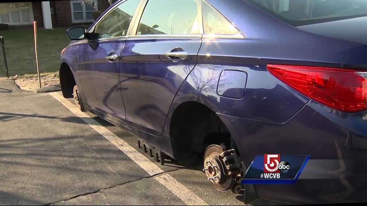 72 tires were reported stolen from cars in the last 3 months.