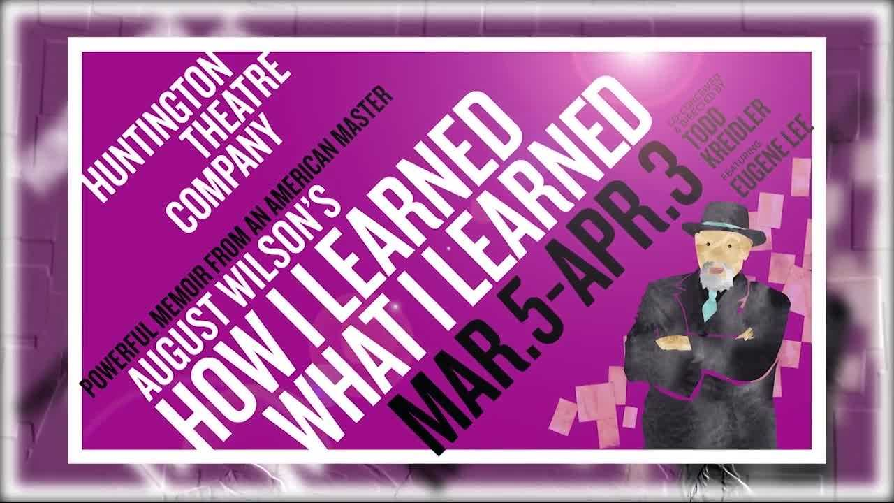 How I Learned what I Learned now through April 3 at BU Theatre- Guest Constanza Romero