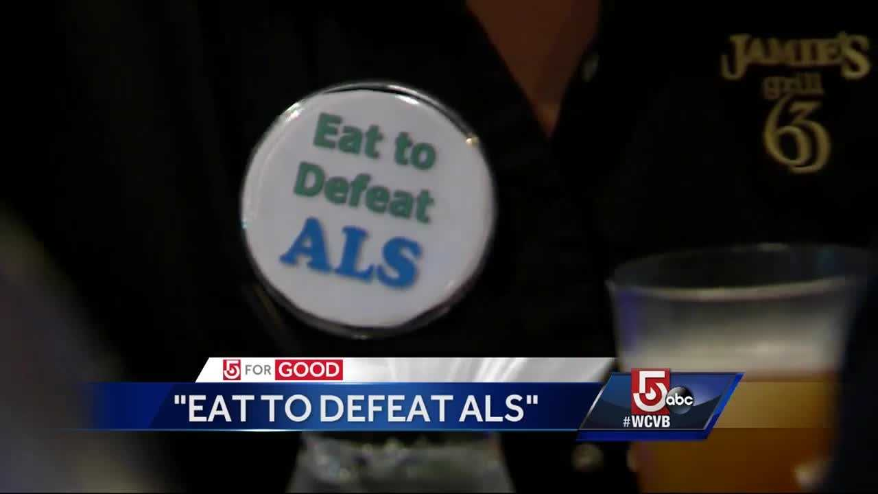 More than 60 restaurants participated in the first annual 'Eat to Defeat ALS' to raise money for ALS One.