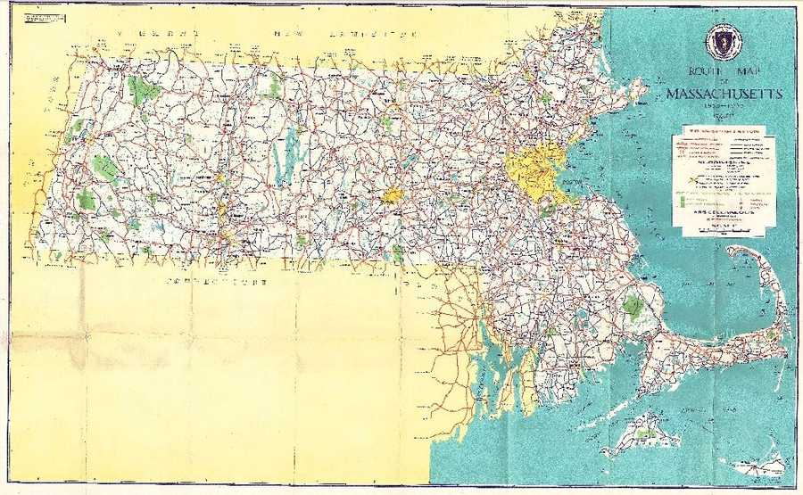Historic Massachusetts Maps - Maps massachusetts