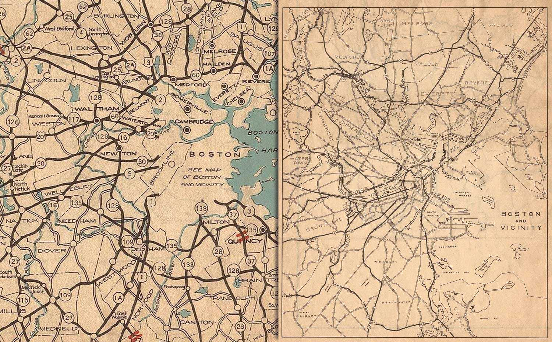 Historic Massachusetts maps