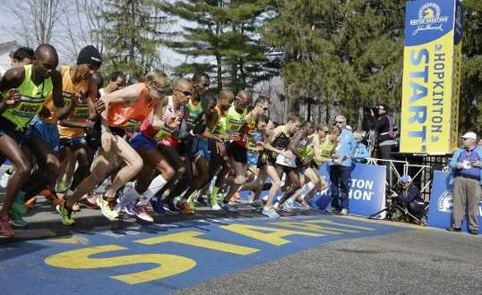 Six hours. That's the time limit set for the Boston Marathon. Runners on Patriots' Day have six hours to finish.