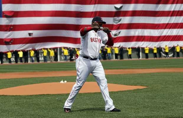 There is another athletic event that takes place on Marathon Monday and it is one baseball game. The Red Sox will take on the Blue Jays at 11:05 a.m. so people can watch both baseball and running.