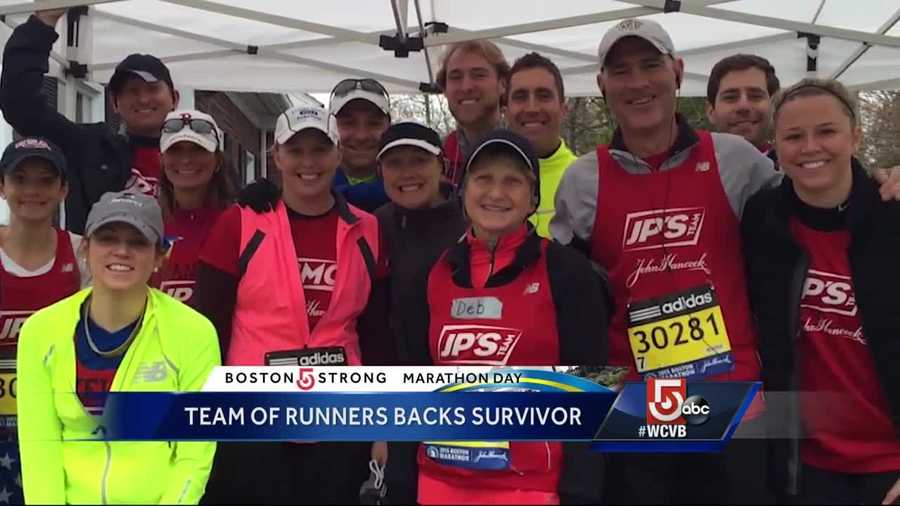 JP Craven was injured outside Marathon Sports but has fully recovered, and now he inspires a team of runners -- including his dad -- who've raised630,000 for BMC. Learn more.