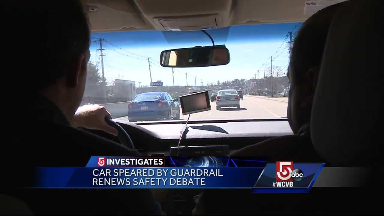 A car crash in February reignited a debate about the safety of guardrails.