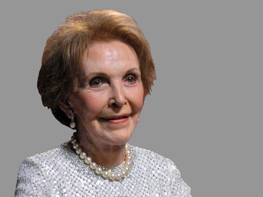 Former First Lady Nancy Reagan died on March 6. She was 94.