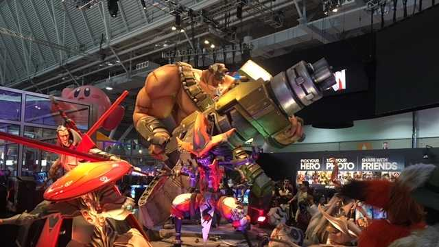 Battleborn Statue and demo