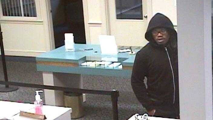 Stoughton police said a man wearing a long, black wig robbed Randolph Savings Bank on Pleasant Street in Stoughton Saturday morning.