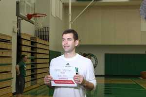 Celtics head coach Brad Stevens took the pledge