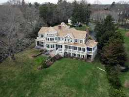 37 Fort Hill Lane is on the market in Duxbury for $4,200,000.