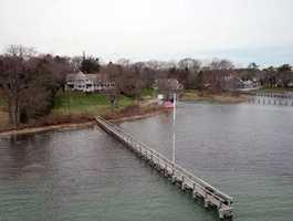 Direct waterfront in the heart of Duxbury village.