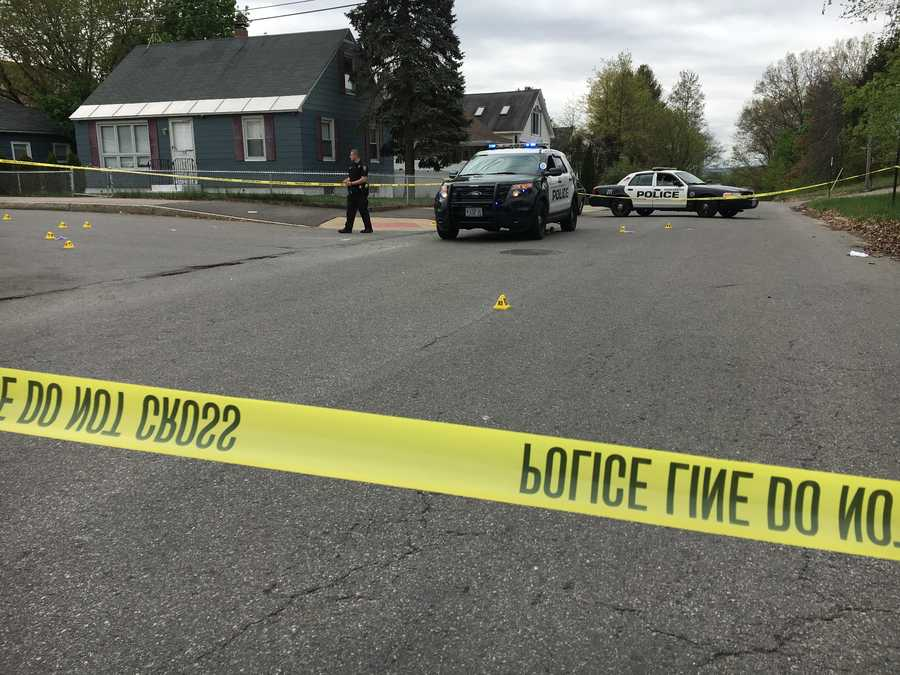 A second officer was shot at Putnam and Dubuque streets in Manchester.