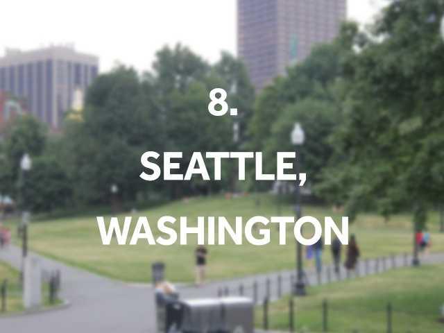 Top neighborhoods: Downtown, Pioneer Square, Belltown