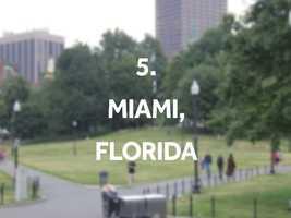 Top neighborhoods: Downtown, Little Havana, Wynwood-Edgewater