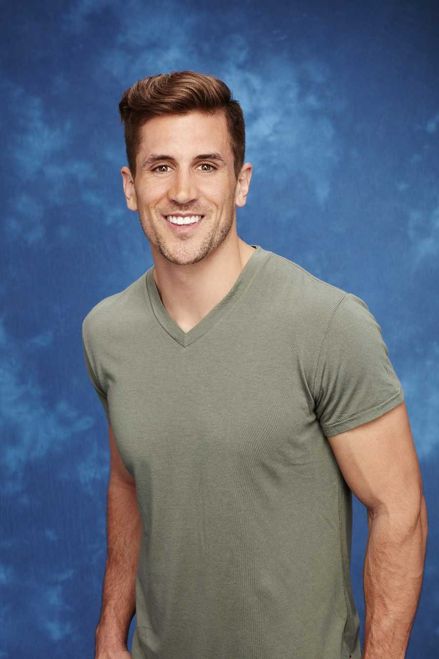 """There's a lot to like about this contestant, and not just because a hometown date with him could include interviews with his older brother, Green Bay Packers quarterback Aaron Rodgers. He gave a clever answer to the TMI-baiting question, """"What's the wildest thing you've done in the bedroom?"""" (""""Try to hang a TV on the wall without directions or a stud finder,"""" he wrote). Rather than brag about his famous sibling, he gushed about how much he loves his grandparents. """"They broke the mold after their generation. They are the most loving people and best example of love and selflessness,"""" he wrote."""