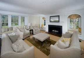 Open kitchen/family room perfect for today's living yet filled with period details that can not be replicated.