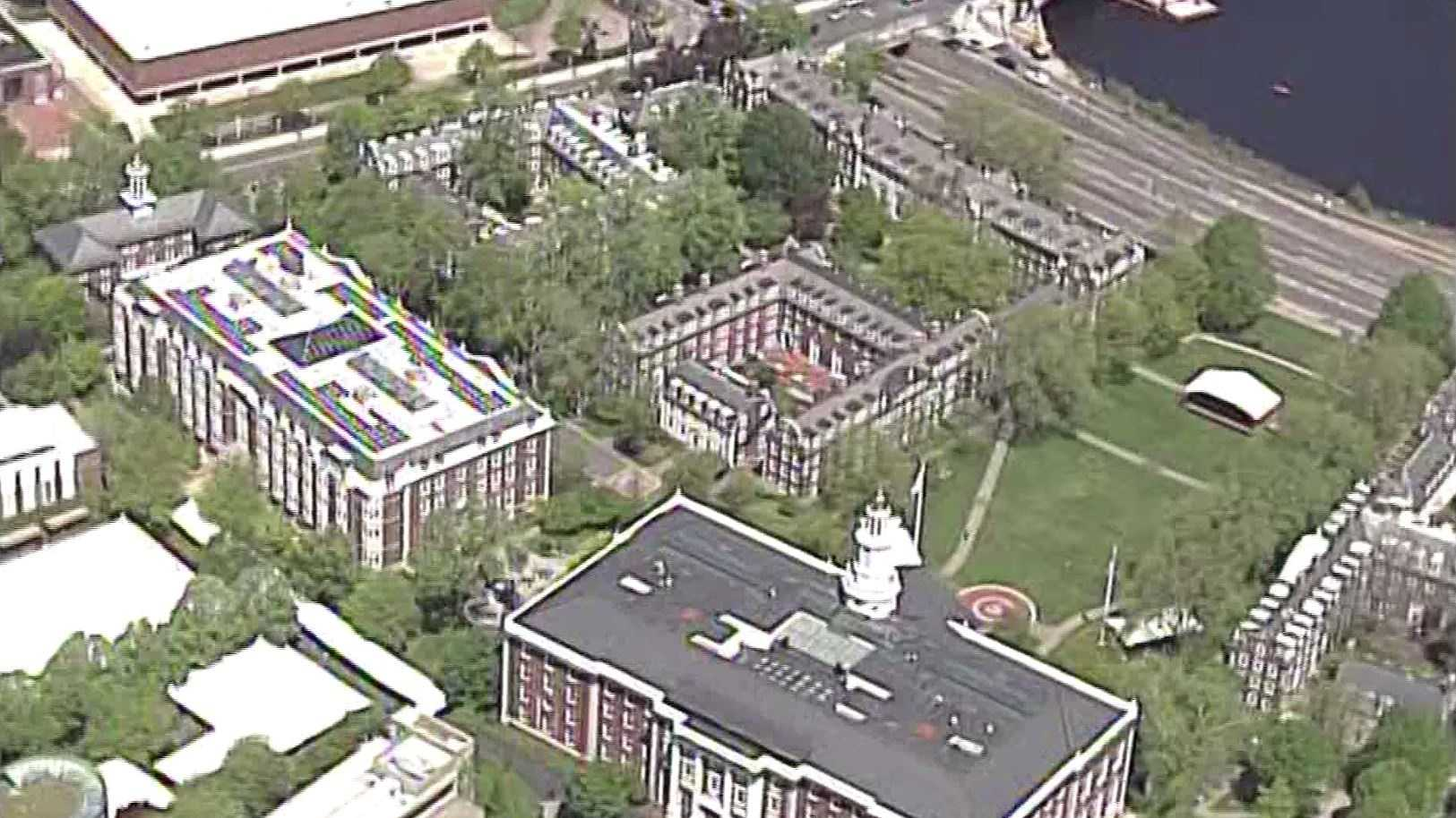Harvard Business seen from Sky5