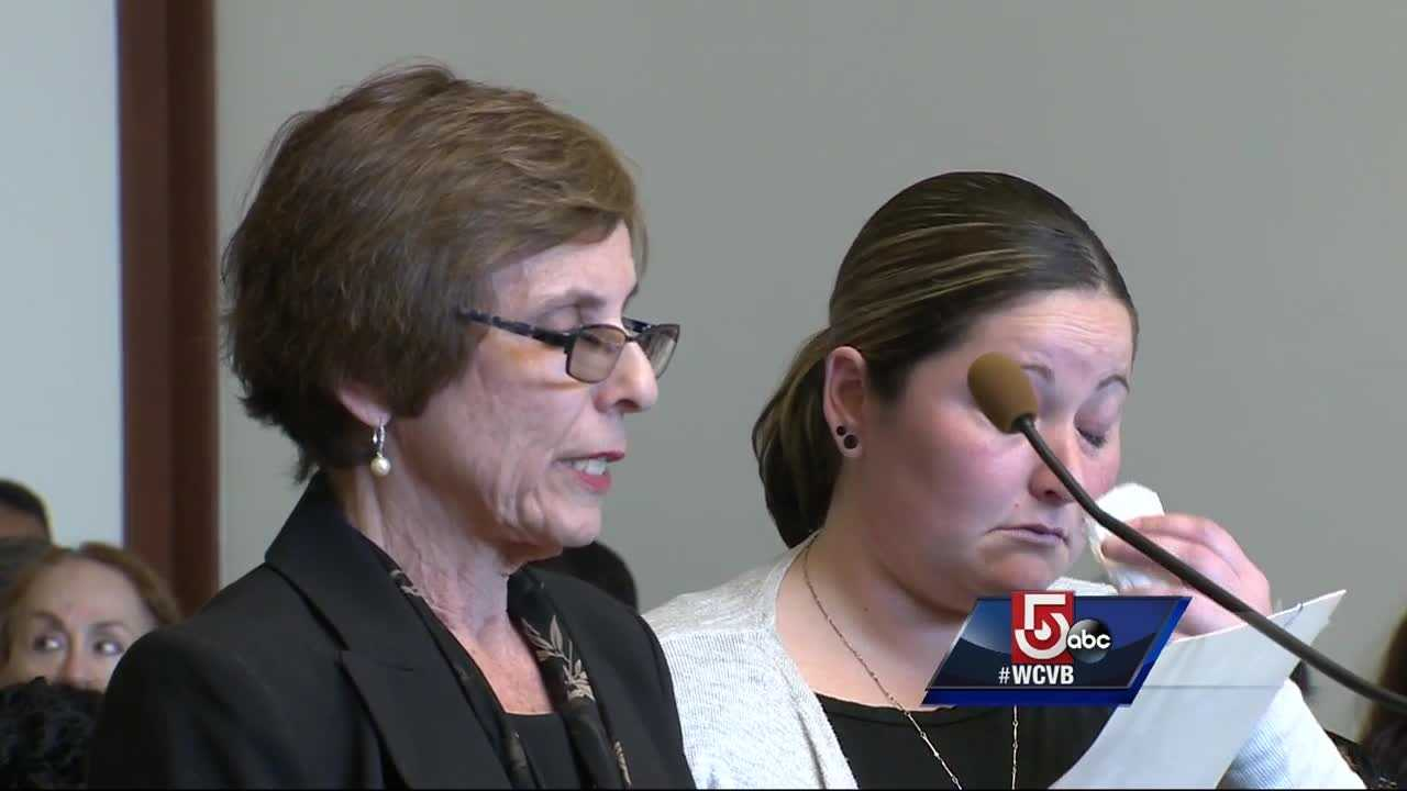 A mother became emotional inside a Boston courtroom as a man entered a plea deal in an accident that severely injured her daughter.