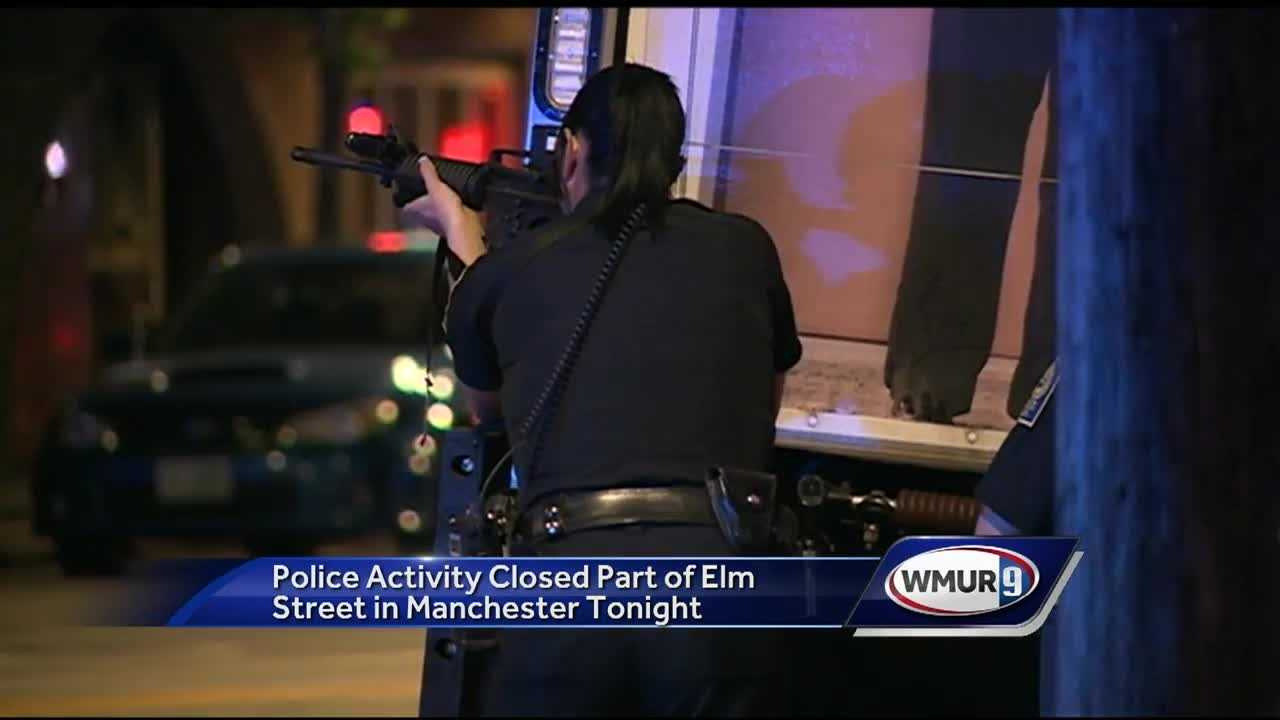 Part of Elm Street reopened after heavy police activity